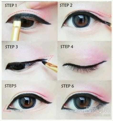 tutorial eyeliner ulzzang boy ulzzang makeup tutorial tumblr www pixshark com images
