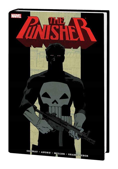punisher back to the punisher back to war omnibus hc declan shaley new sealed marvel comics big bang toys comics