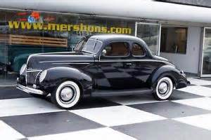 39 Ford Coupe 39 Ford Deluxe Coupe Tuxedo Black 3 Speed Manual Ebay