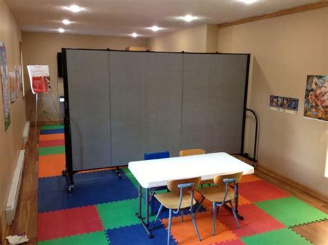 room dividers for classrooms ideas for using portable church room dividers screenflex