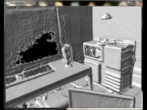 3d room scanner xbox kinect 3d scanning room