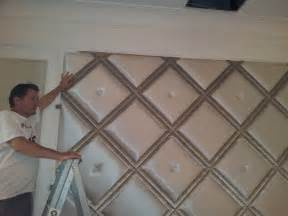 Padded Wall Panels pics for gt diy upholstered wall panels