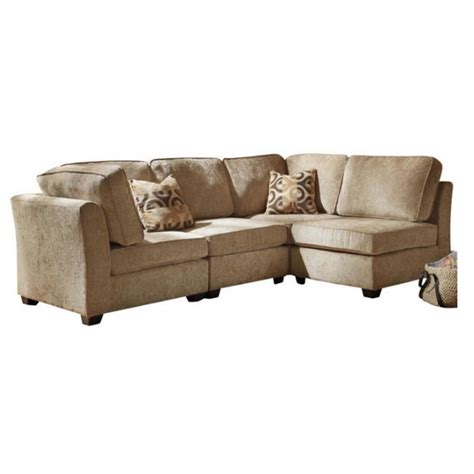 4 piece sectionals trent home burke 4 piece sectional in brown beige chenille