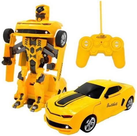 Mobil Bumble Bee Transformer Remote ar enterprises rechargeable rc bumble bee transformer robot for rechargeable rc