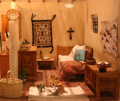 Santa Fe Decor by Santa Fe Style Bedroom With Furniture Lilliput