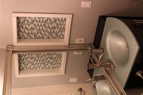 Old Bathroom Ideas Glass Tile Art Niche Installation Armchair Builder