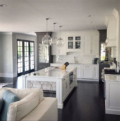 white marble kitchen with grey island house home 17 best ideas about white kitchens on pinterest white