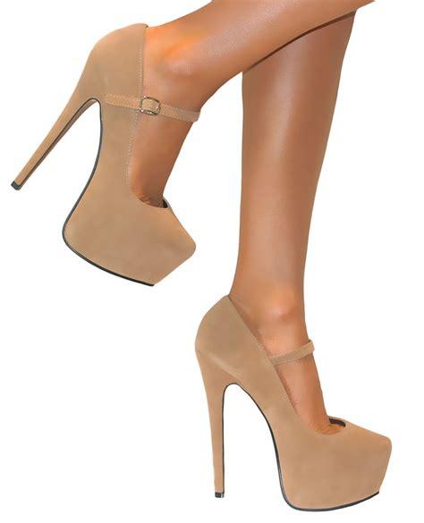 High Heels M2m 3 strappy platform stiletto high heels court shoes 3 8 ebay