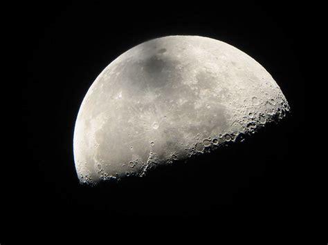 luna llena y menguante en el mes de febrero 2016 compartiendo luz con sol