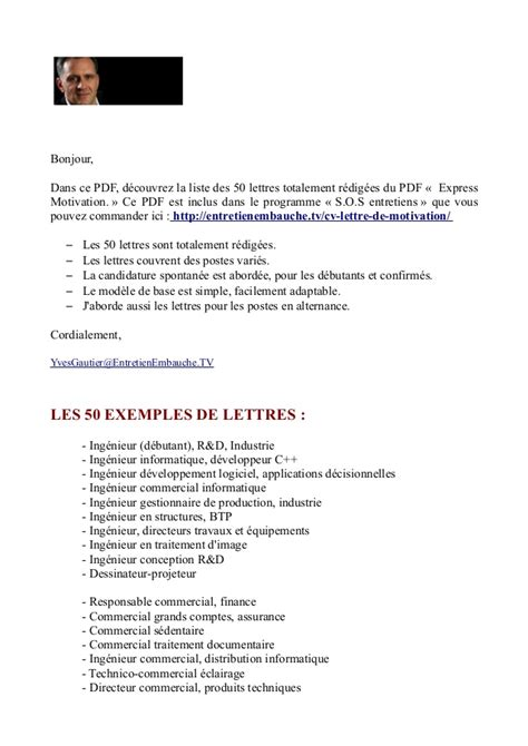 Exemple Lettre De Motivation Responsable Commercial Modele Lettre Motivation Responsable Administratif Financier