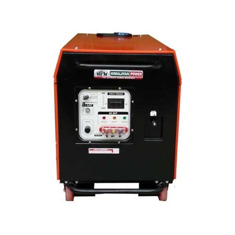 silent ge 3p 9000 rs portable generator in india by hpm