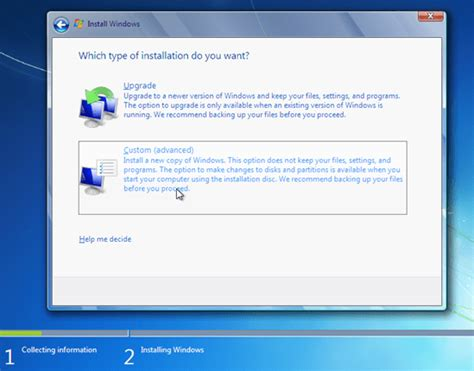 tutorial instal windows 7 gambar tutorial cara install ulang windows 7 lengkap gambar