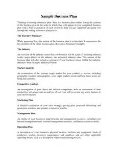 nhs business plan template nhs business plan
