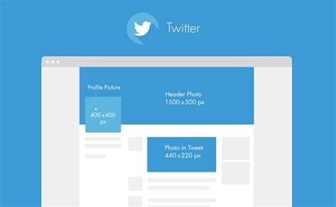 Twitter Layout Dimensions | elearn2 saison 2 le guide complet des dimensions des