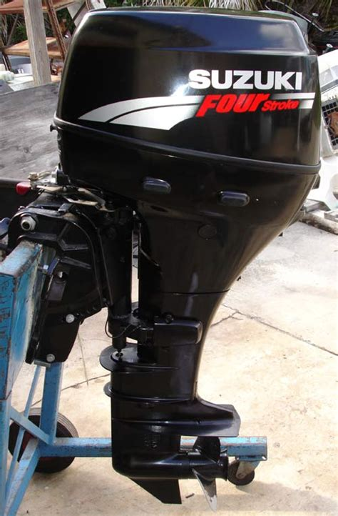 30 Hp Suzuki Outboard 2007 30 Hp Suzuki Shaft 4 Stroke Outboard
