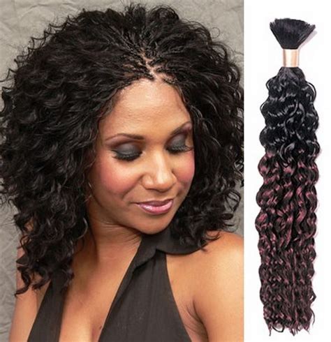 deep wavy micro braiding for older women coiffures afro