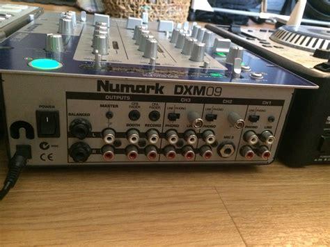 console dj numark dxm09 numark dxm09 audiofanzine