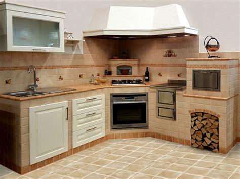 piccola cucina in muratura 1001 idee per cucine in muratura funzionali e accoglienti