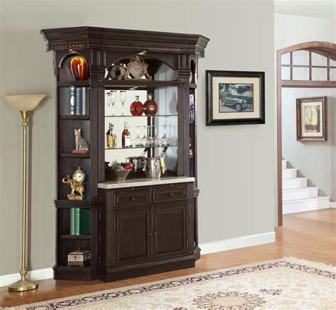 bar unit designs parker house venezia library wall unit bar set ph ven 465