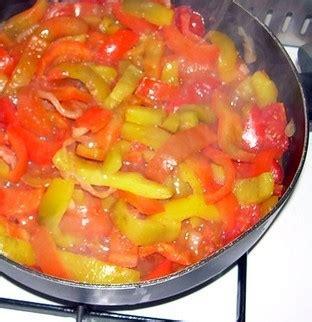 cucinare senza aglio e cipolla peperonata senza cipolle quot agenda di cucina quot