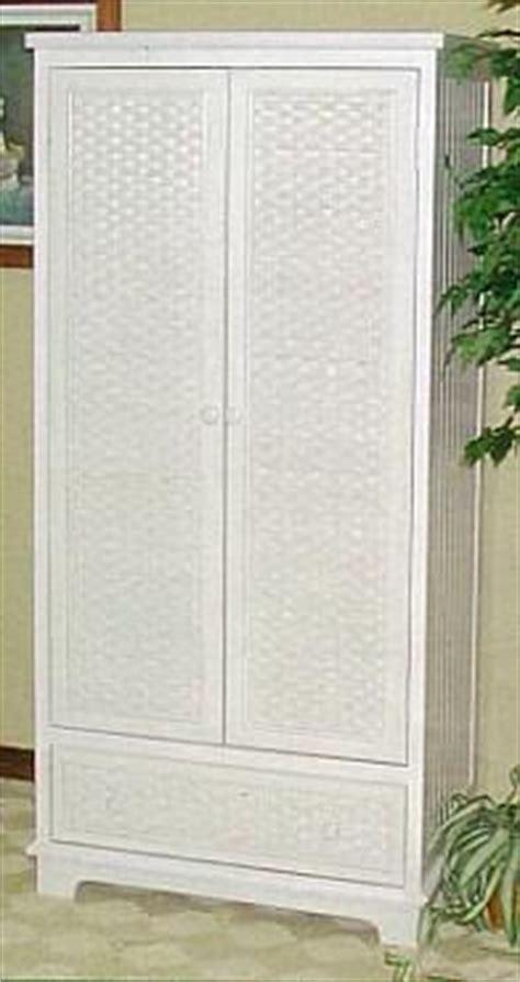 wicker armoire door wardrobe wicker wardrobe