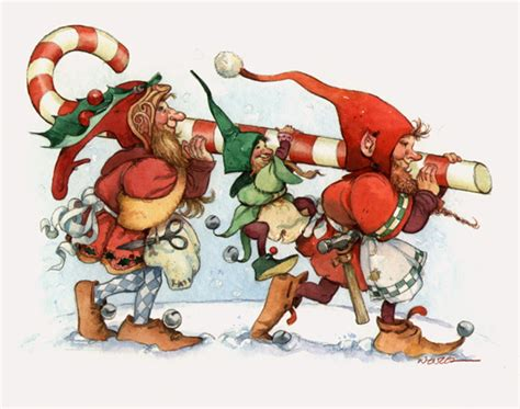 images of christmas elves deck the holiday s the secret life of christmas elves