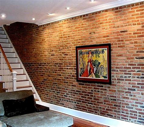 Faux Interior Brick by Faux Brick Wall Really If That S Truly Brick