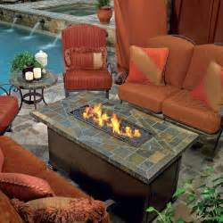 Patio Table With Firepit Pits Tables For Sale Hayneedle Heating Lighting
