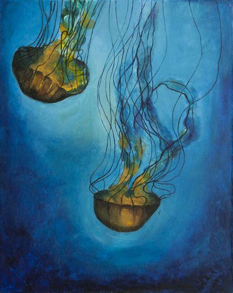 acrylic painting jellyfish acrylic painting quot jellyfish quot ideas