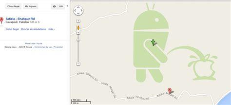 apple maps for android esta p 243 lemica imagen tomada de maps le est 225 dando