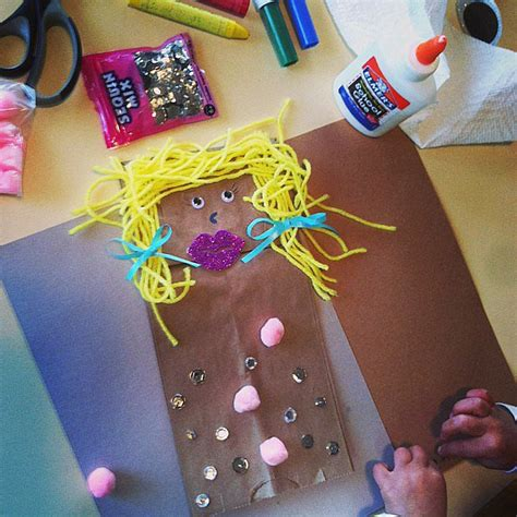Decorating Brown Paper Bags For by Decorating Brown Paper Bags 15 Easy And Creative Kid