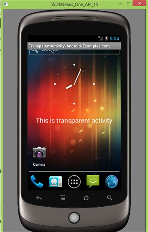make themes android create transparent activity in android with transparent