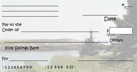 check templates free clipart n images printable pretend checks for