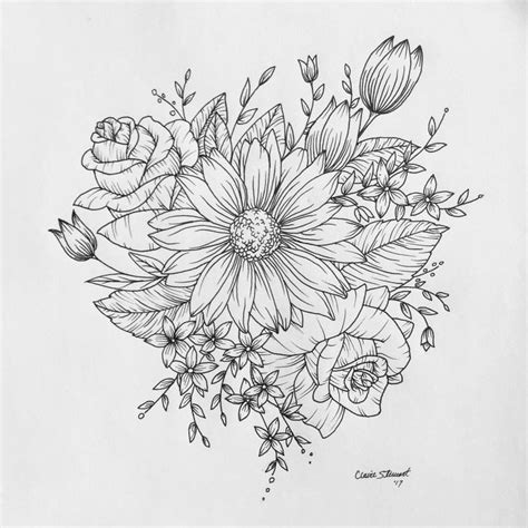 wild flower tattoo designs best 25 wildflower drawing ideas on floral