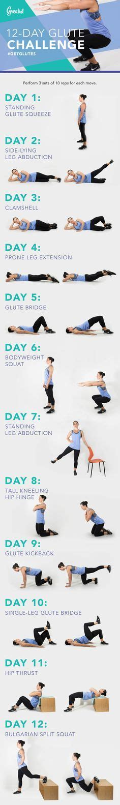 1000 ideas about glute challenge on 30 day