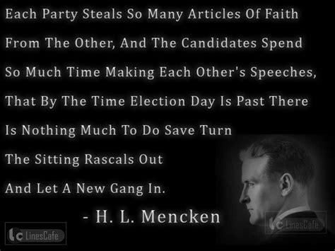 Quote Of The Day Hl Mencken by Journalist H L Mencken Top Best Quotes With Pictures