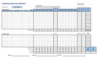 Timecard Template Excel by Excel Time Card Template Time Card Template