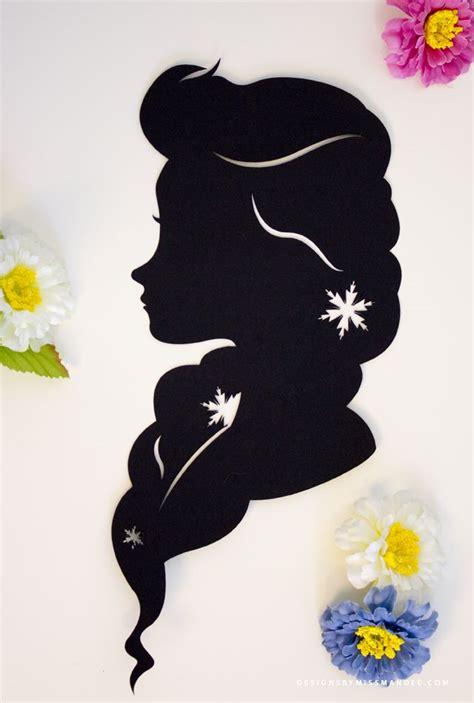 Map 3 Princess 2 Design disney princess silhouettes v 2 종이오리기 전사 및 디자인