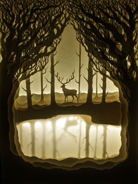 Paper Cut Light Box by Indian Creates Incredibly Beautiful Paper Cut Light
