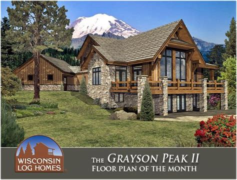 luxury cabin homes luxury log cabin home wish list pinterest