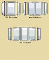 bay window vs bow window bow windows soft lite windows