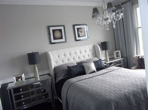 grey and silver bedroom home staging new jersey home stager grey silver real estate home staging modern