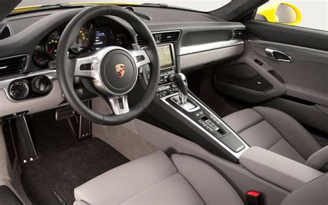 porsche carrera interior 2012 porsche 911 reviews and rating motor trend