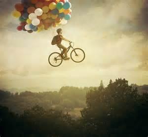 Balloons bike cute fantasy flying favim com 417308 osama