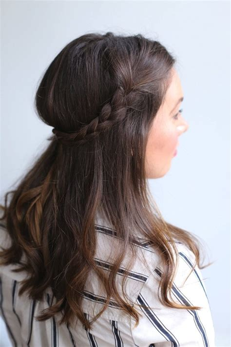 cute hairstyles second day hair 3 easy ways to style second day hair glitter guide