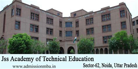 Jss Noida Mba Fee Structure by Jss Noida Jss Academy Of Technical Education Jssate Noida