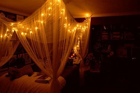 lights around bed 17 best images about fairylights romantic night poster