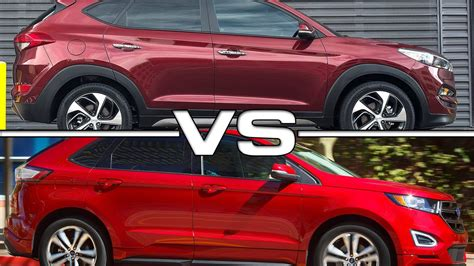 Hyundai Fort by 2016 Hyundai Tucson Vs 2016 Ford Edge