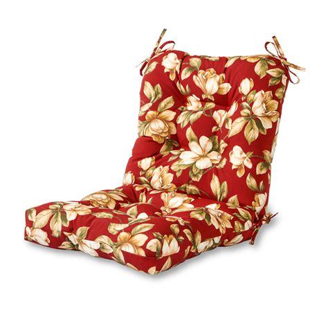 Patio Chair Cushions Floral Greendale Home Fashions Outdoor Seat Back Chair Cushion