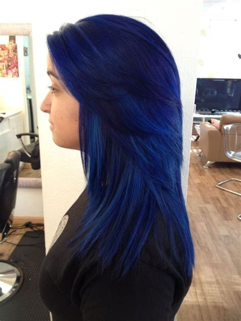 pravana blue hair color pravana blue black www imgkid the image kid has it